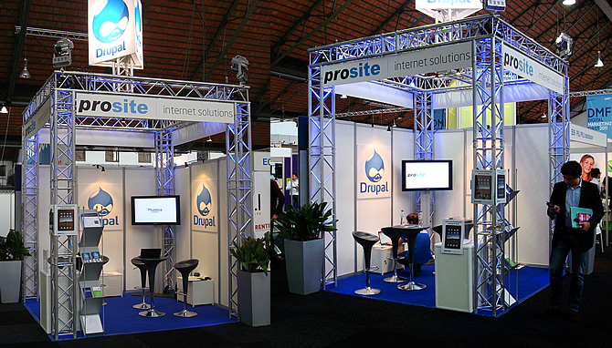 Prosite stand op DMF2011