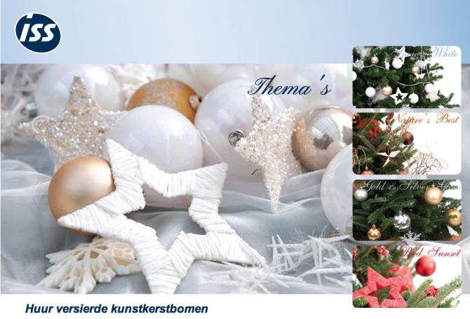 ISS Leaseplant Kerstboomactie