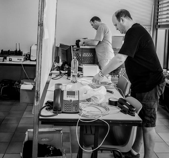 IT ploeg van Suikerrock 2013