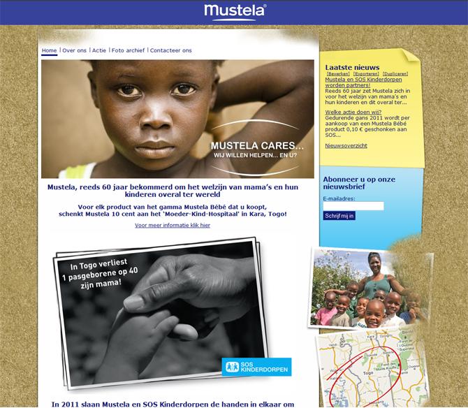 Mustela SOS Kinderdorpen