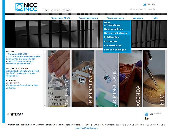NICC INCC website