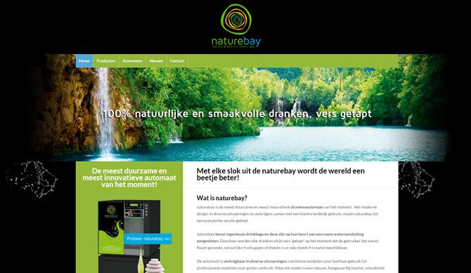 screenshot naturebay website
