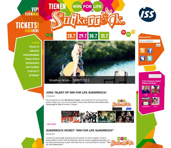Win For Life Suikerrock 2011 screenshot