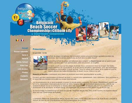 Belgacom Beach Soccer Championship@Citibank City