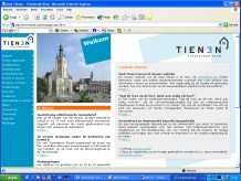 Stad Tienen website