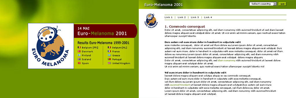 Euromelanoma website 2002