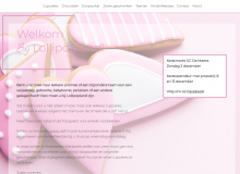 Lollipopland WordPress website screenshot