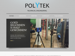 Polytek website screenshot