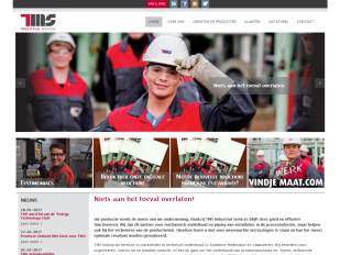TMS Industrial Services nieuwe website