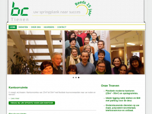 BC Tienen website screenshot