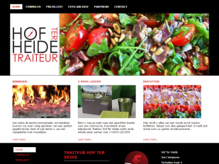 Traiteur Hof Ter Heide website screenshot