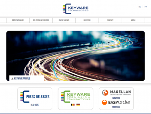 Keyware Technologies website screenshot