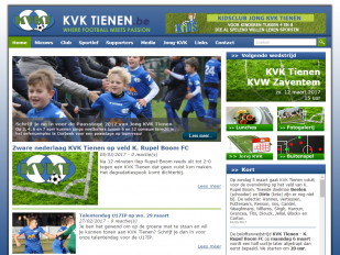 KVK Tienen website screenshot