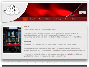 Restaurant 't Wit Paard Tienen screenshot
